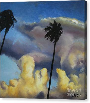 Before Sunset Canvas Print by Jindra Noewi