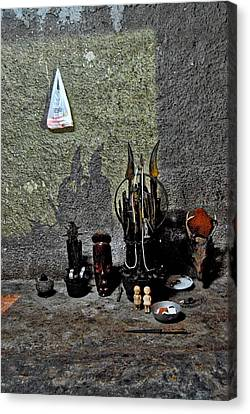 Santeria Canvas Print - Before The Ceremony Begins by Larry Sides