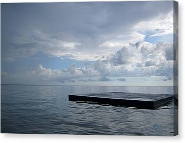 Canvas Print featuring the photograph Before The Rain by Jon Emery