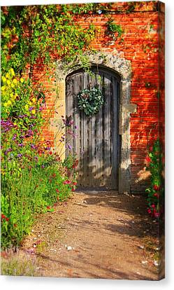 Canvas Print featuring the photograph Before The Secret Garden by Michael Hope