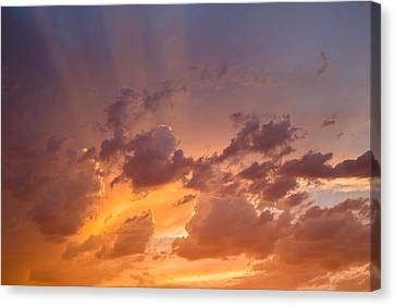 Canvas Print featuring the photograph Before The Storm by Dennis Bucklin
