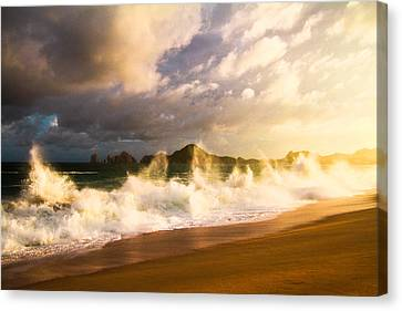 Canvas Print featuring the photograph Before The Storm by Eti Reid