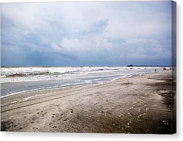 Canvas Print featuring the photograph Before The Storm by Sennie Pierson