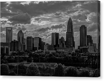 Canvas Print featuring the photograph Before The Storm by Serge Skiba