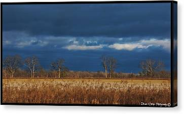 Before The Storm Canvas Print by Vincent Dwyer