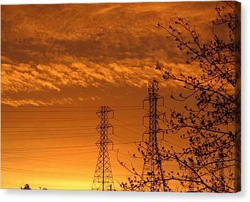 Before The Sunrise Canvas Print