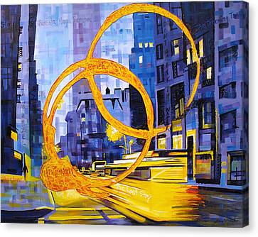 Before These Crowded Streets Canvas Print by Joshua Morton