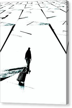 Begin Again Canvas Print