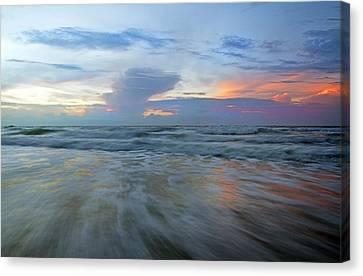 Coastal Places Canvas Print - Beginnings At Topsail by Betsy Knapp