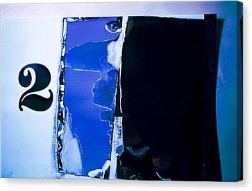 Behind Door Number Two... Canvas Print