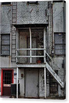 Fire Escape Canvas Print - Behind Ripley 002 by Lance Vaughn