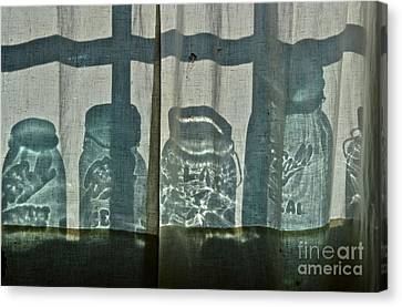 Behind The Curtains - Peoples Choice Award Canvas Print