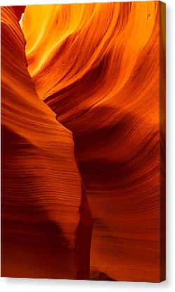Behind The Curves Canvas Print