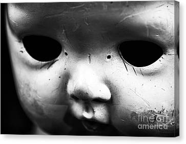 Behind The Eyes Canvas Print by John Rizzuto