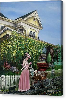 Behind The Garden Gate Canvas Print