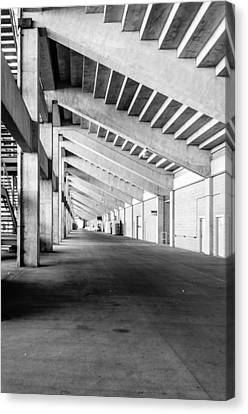 Behind The Grandstand Canvas Print