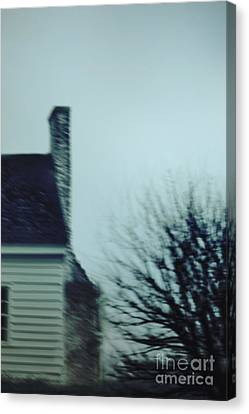 Behind The House Canvas Print by Margie Hurwich