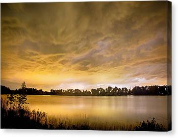 Behind The Storm Canvas Print by James BO  Insogna