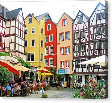 Canvas Print featuring the photograph Beilstein by Gerry Bates