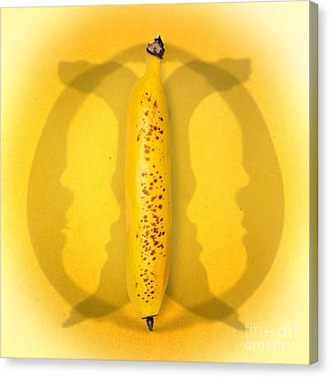 Being Bananas From Inversions In The Multiverse Canvas Print