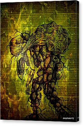 Beings Incapable Of Deep Feelings Of The Human Condition Canvas Print by Paulo Zerbato