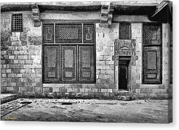 Beit El Harrawi II Canvas Print by George Rossidis