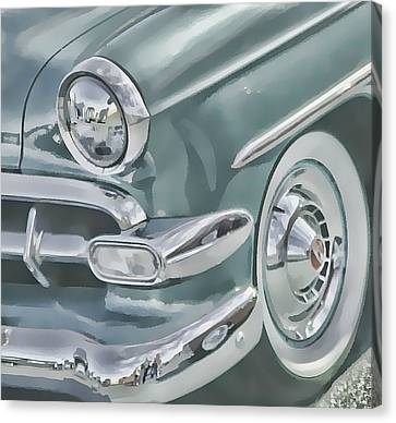 Bel Air Headlight Canvas Print