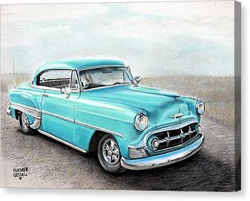 Bel Air Canvas Print by Heather Gessell