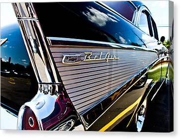 Canvas Print featuring the photograph Bel Air Reflections by Joann Copeland-Paul