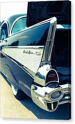 Bel Airtail Fin Canvas Print by Alexey Stiop