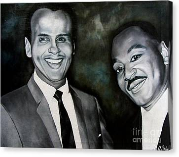 Belafonte And King Canvas Print