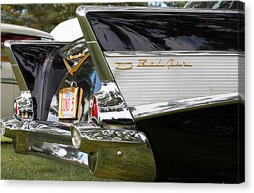 Belair Tail Fins  Canvas Print by Mick Flynn