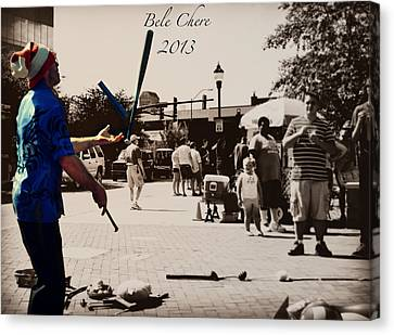 Bele Chere 2013 Asheville Nc Canvas Print