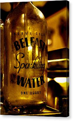 Belfast Sparkling Water Canvas Print by David Patterson