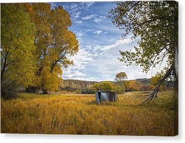 Belfry Fall Landscape Canvas Print