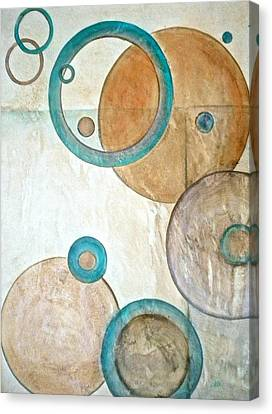 Belief In Circles Canvas Print