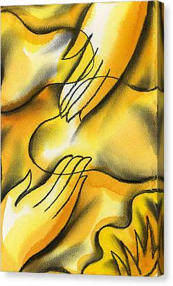 Belief Canvas Print by Leon Zernitsky
