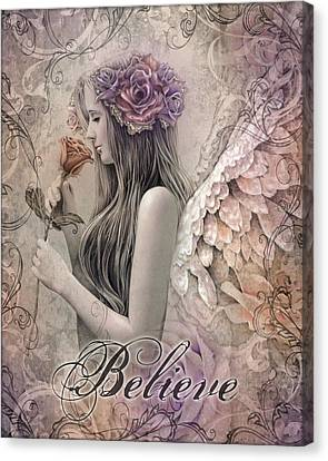Believe Canvas Print by Jessica Galbreth