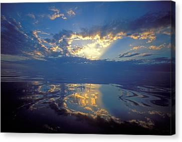 Belize Dawn Canvas Print