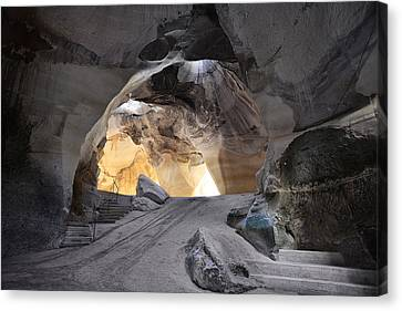 Bell Caves Canvas Print