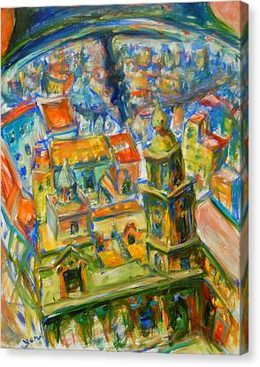 Bell City Canvas Print by Yen