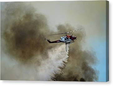 Bell Helicopter 212 Canvas Print