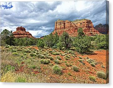 Bell Rock At Sedona Az. Canvas Print