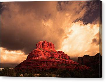 Canvas Print featuring the photograph Bell Rock by Tom Kelly