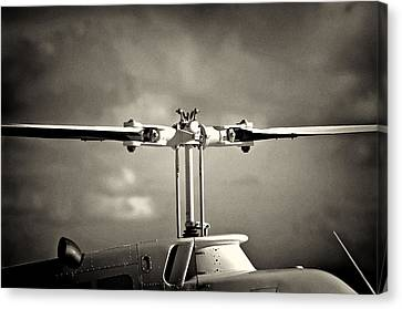 Bell Rotor Canvas Print by Patrick M Lynch