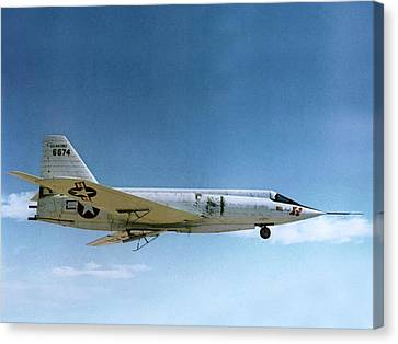 Highspeed Canvas Print - Bell X-2 Starbuster Supersonic Test Plane by Nasa