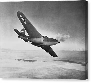 Bell Xp-59a Airacomet, 1942 Canvas Print by Science Photo Library