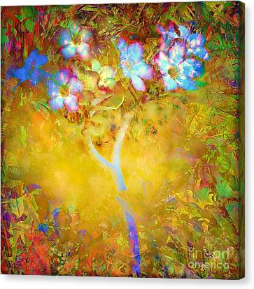 Canvas Print featuring the photograph Bella Flora-tropicala by Darla Wood