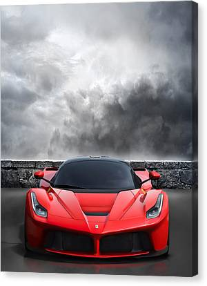 Bella Rosso Canvas Print by Peter Chilelli