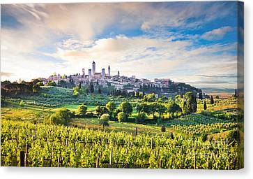Bella Toscana Canvas Print by JR Photography